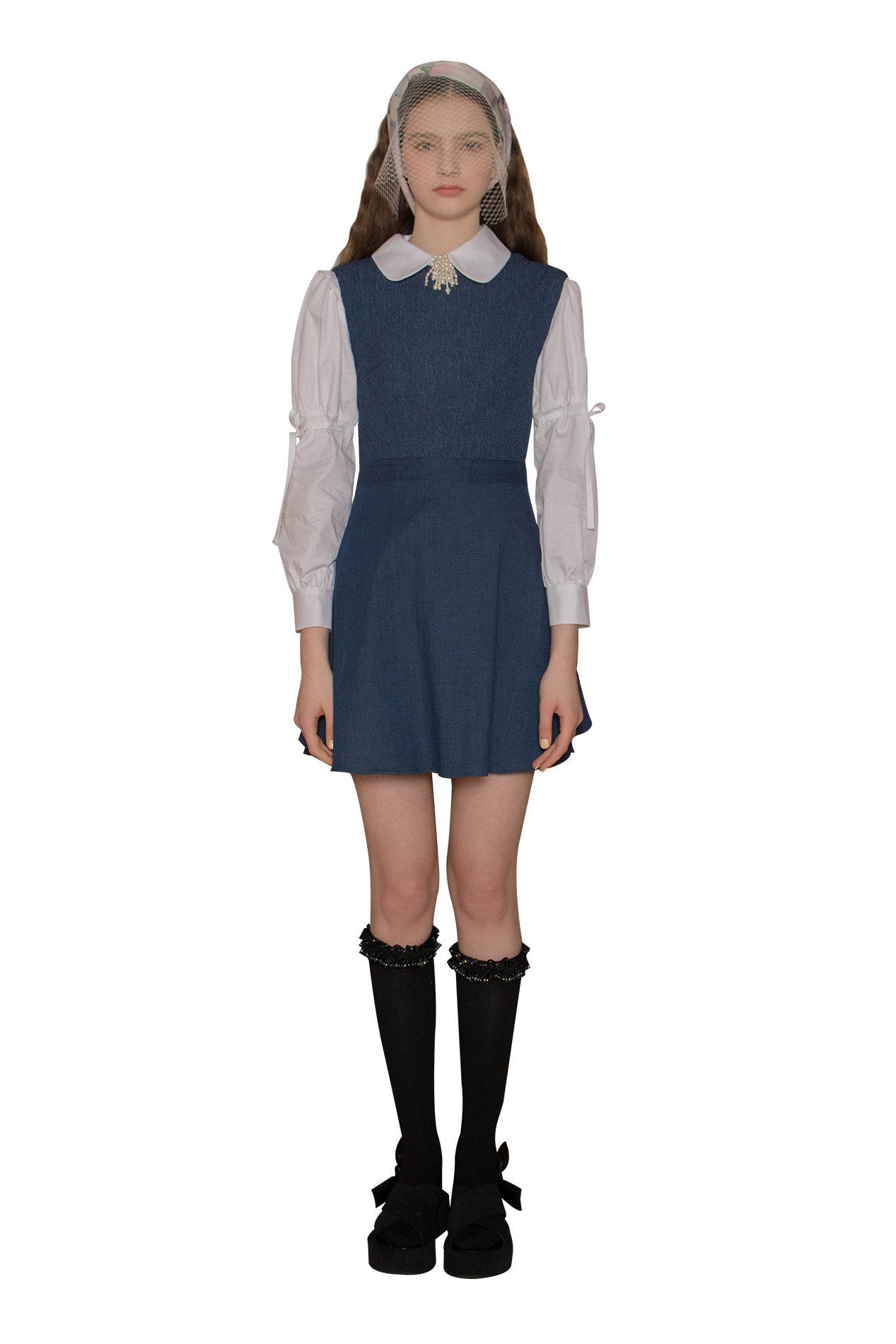 Marie dress (denim)